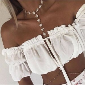 Sexy Star Body Belly Chain Choker Necklace